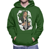 Sidney Maurer Original Portrait Of Snoop Dogg Mens Hooded Sweatshirt - Mens Hooded Sweatshirt