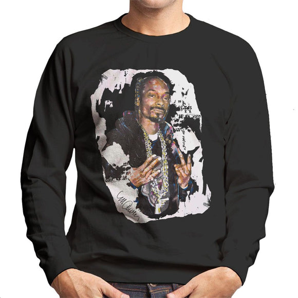 Sidney Maurer Original Portrait Of Snoop Dogg Mens Sweatshirt - Mens Sweatshirt