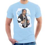 Sidney Maurer Original Portrait Of Snoop Dogg Mens T-Shirt - Mens T-Shirt