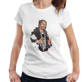 Sidney Maurer Original Portrait Of Snoop Dogg Womens T-Shirt - Womens T-Shirt