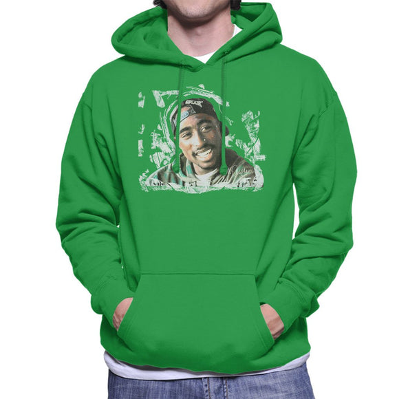 Sidney Maurer Original Portrait Of Tupac Shakur Mens Hooded Sweatshirt - Mens Hooded Sweatshirt