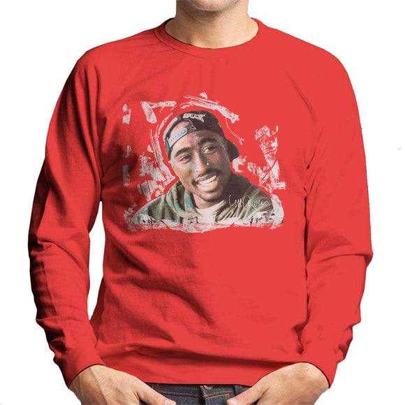 Sidney Maurer Original Portrait Of Tupac Shakur Mens Sweatshirt - Mens Sweatshirt