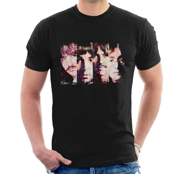 Sidney Maurer Original Portrait Of The Beatles Revolution Men's T-Shirt