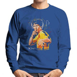 Sidney Maurer Original Portrait Of Bruce Lee Game Of Death Mens Sweatshirt - Mens Sweatshirt