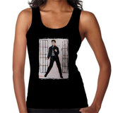 Sidney Maurer Original Portrait Of Elvis Presley Jailhouse Rock Womens Vest - Womens Vest