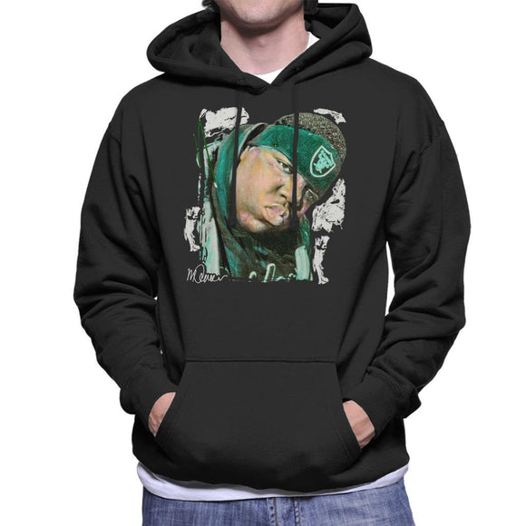 Sidney Maurer Original Portrait Of Notorious BIG Mens Hooded Sweatshirt - Mens Hooded Sweatshirt