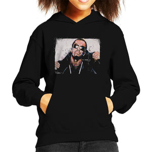 Sidney Maurer Original Portrait Of P Diddy Kids Hooded Sweatshirt - Kids Boys Hooded Sweatshirt
