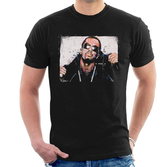 Sidney Maurer Original Portrait Of P Diddy Mens T-Shirt - Mens T-Shirt