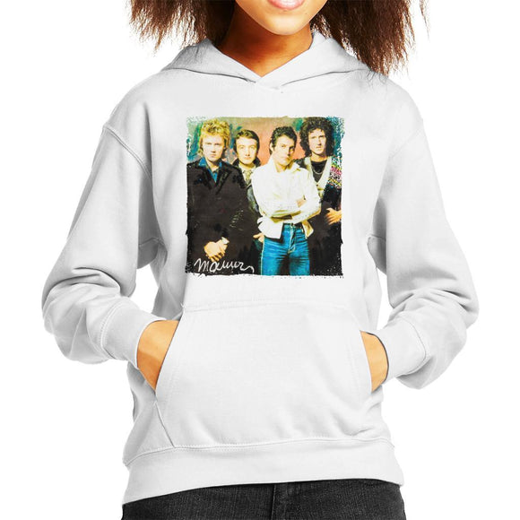 Sidney Maurer Original Portrait Of Queen Kids Hooded Sweatshirt - Kids Boys Hooded Sweatshirt