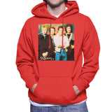 Sidney Maurer Original Portrait Of Queen Mens Hooded Sweatshirt - Mens Hooded Sweatshirt