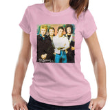 Sidney Maurer Original Portrait Of Queen Womens T-Shirt - Small / Light Pink - Womens T-Shirt