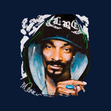 Sidney Maurer Original Portrait Of Snoop Dogg Smoking Kids Sweatshirt - Kids Boys Sweatshirt