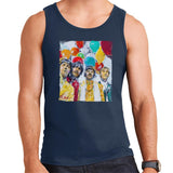 Sidney Maurer Original Portrait Of The Beatles Sgt Peppers 1967 Mens Vest - Mens Vest