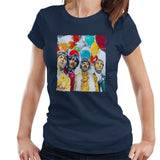 Sidney Maurer Original Portrait Of The Beatles Sgt Peppers 1967 Womens T-Shirt - Womens T-Shirt