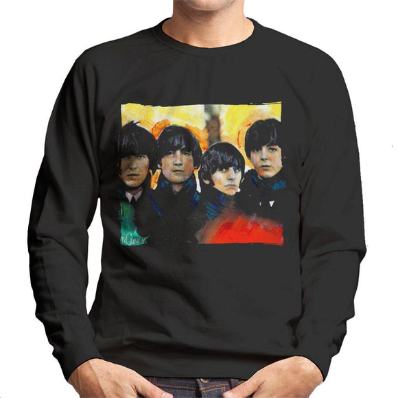 Sidney Maurer Original Portrait Of The Beatles Bowl Cuts Mens Sweatshirt - Mens Sweatshirt