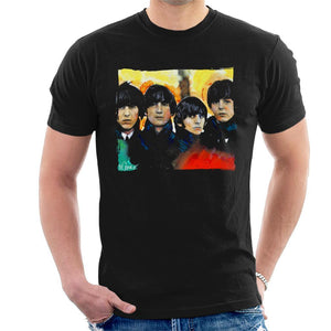 Sidney Maurer Original Portrait Of The Beatles Bowl Cuts Mens T-Shirt - Mens T-Shirt
