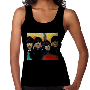 Sidney Maurer Original Portrait Of The Beatles Bowl Cuts Womens Vest - Womens Vest