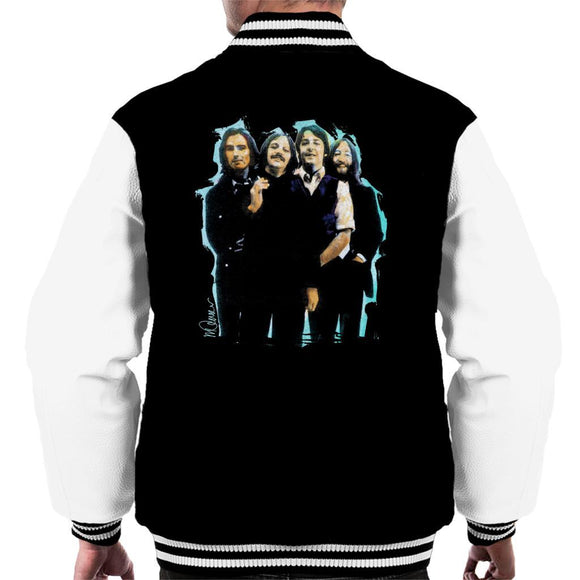 Sidney Maurer Original Portrait Of The Beatles Long Hair Mens Varsity Jacket - Mens Varsity Jacket