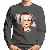 Sidney Maurer Original Portrait Of Eric Clapton Mens Sweatshirt - Mens Sweatshirt