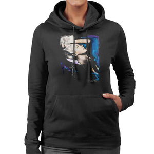 Sidney Maurer Original Portrait Of Marilyn Monroe Pose Womens Hooded Sweatshirt - Womens Hooded Sweatshirt