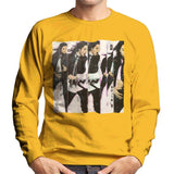 Sidney Maurer Original Portrait Of Michael Jackson 90s Mens Sweatshirt - Small / Gold - Mens Sweatshirt