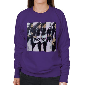 Sidney Maurer Original Portrait Of Michael Jackson 90s Womens Sweatshirt - Womens Sweatshirt