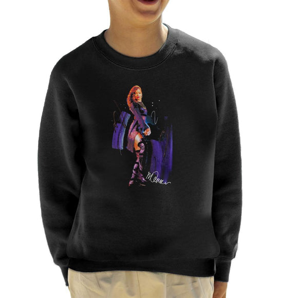 Sidney Maurer Original Portrait Of Rihanna Long Boots Kids Sweatshirt - Kids Boys Sweatshirt