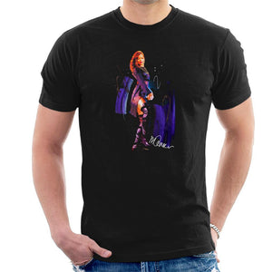 Sidney Maurer Original Portrait Of Rihanna Long Boots Mens T-Shirt - Mens T-Shirt