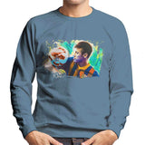 Sidney Maurer Original Portrait Of Neymar Barcelona Mens Sweatshirt - Mens Sweatshirt