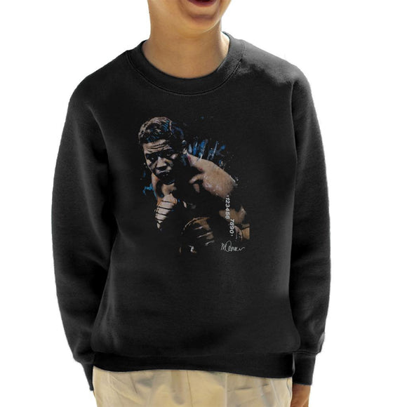 Sidney Maurer Original Portrait Of Joe Louis Kids Sweatshirt - Kids Boys Sweatshirt