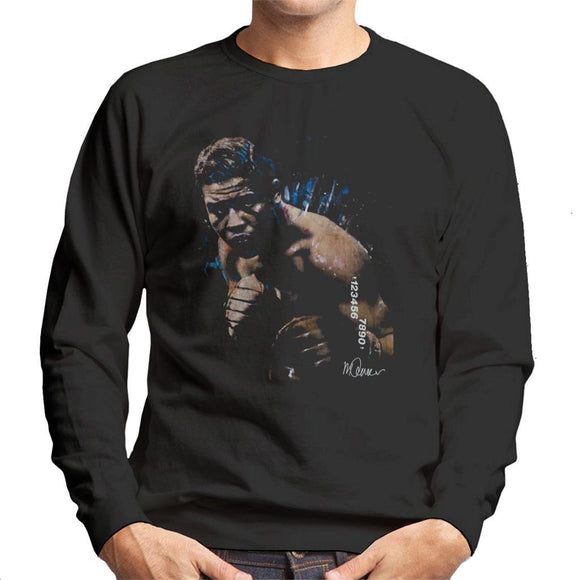 Sidney Maurer Original Portrait Of Joe Louis Mens Sweatshirt - Mens Sweatshirt