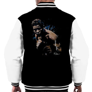 Sidney Maurer Original Portrait Of Joe Louis Mens Varsity Jacket - Mens Varsity Jacket