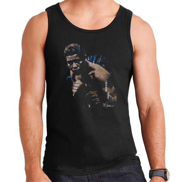 Sidney Maurer Original Portrait Of Joe Louis Mens Vest - Mens Vest