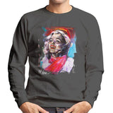 Sidney Maurer Original Portrait Of Marilyn Monroe Scarf Men's Sweatshirt