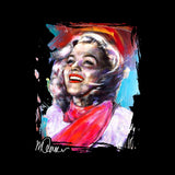 Sidney Maurer Original Portrait Of Marilyn Monroe Scarf Women's Sweatshirt
