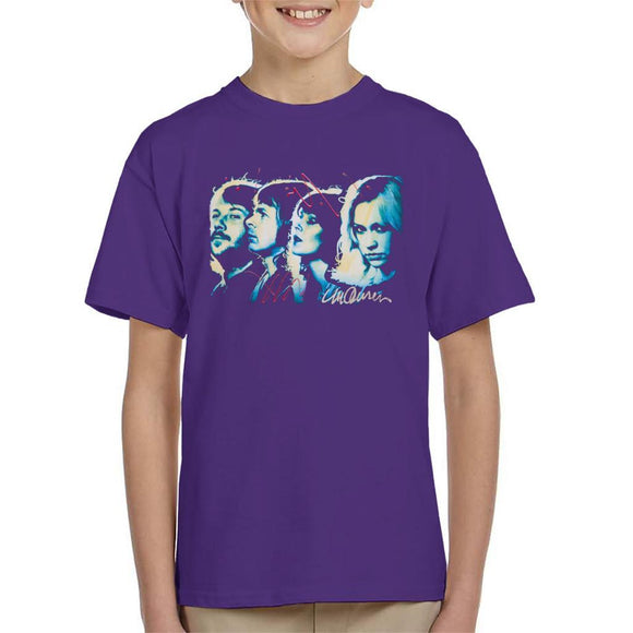 Sidney Maurer Original Portrait Of Abba Side Profile Kids T-Shirt - Kids Boys T-Shirt