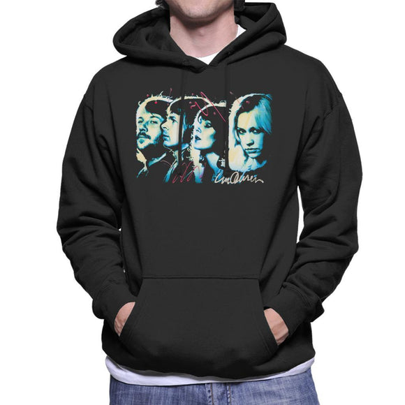 Sidney Maurer Original Portrait Of Abba Side Profile Mens Hooded Sweatshirt - Mens Hooded Sweatshirt