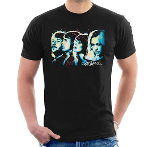 Sidney Maurer Original Portrait Of Abba Side Profile Mens T-Shirt - Mens T-Shirt