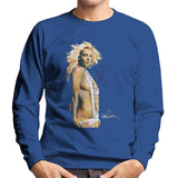 Sidney Maurer Original Portrait Of Britney Spears Necklaces Mens Sweatshirt - Mens Sweatshirt