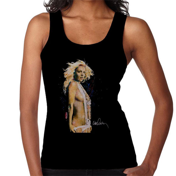 Sidney Maurer Original Portrait Of Britney Spears Necklaces Womens Vest - Womens Vest