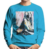 Sidney Maurer Original Portrait Of Kate Moss Nude Mens Sweatshirt - Mens Sweatshirt
