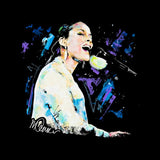 Sidney Maurer Original Portrait Of Alicia Keys Men's T-Shirt