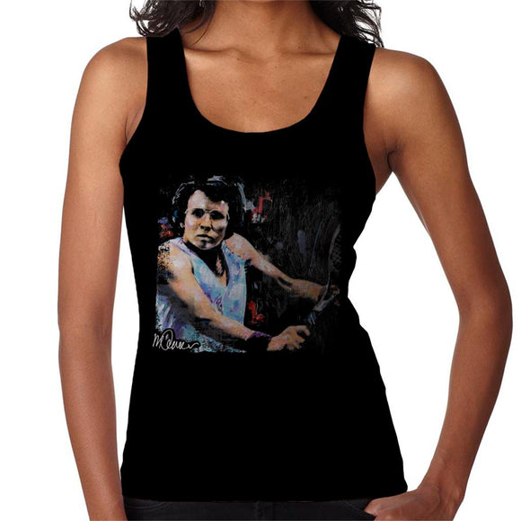 Sidney Maurer Original Portrait Of Billie Jean King Women's Vest
