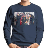 Sidney Maurer Original Portrait Of Black Eyed Peas Men's Sweatshirt