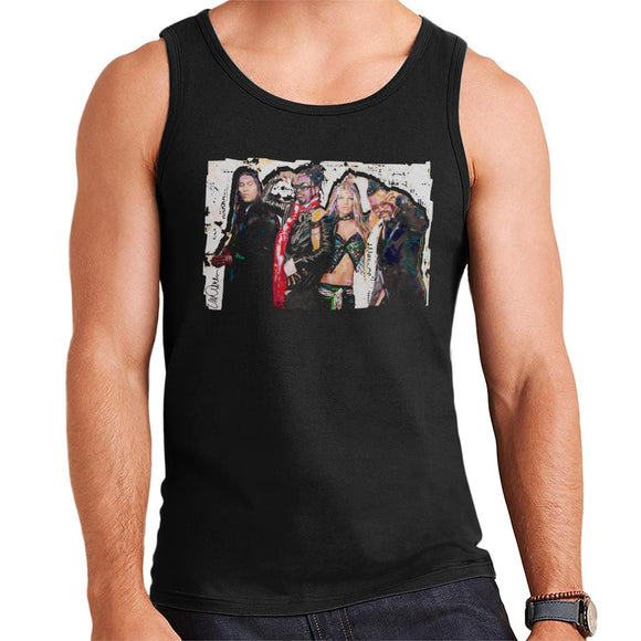 Sidney Maurer Original Portrait Of Black Eyed Peas Men's Vest