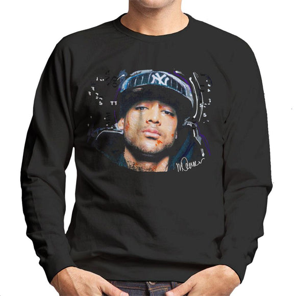 Sidney Maurer Original Portrait Of Booba Men's Sweatshirt