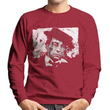 Sidney Maurer Original Portrait Of Buster Keaton Men's Sweatshirt
