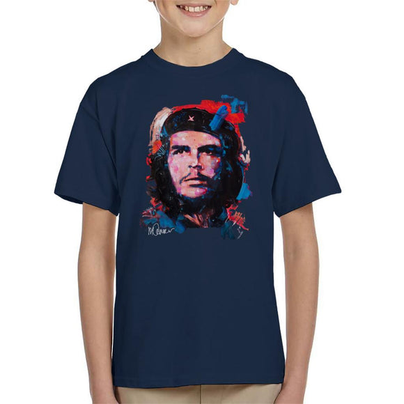 Sidney Maurer Original Portrait Of Che Guevara Kid's T-Shirt