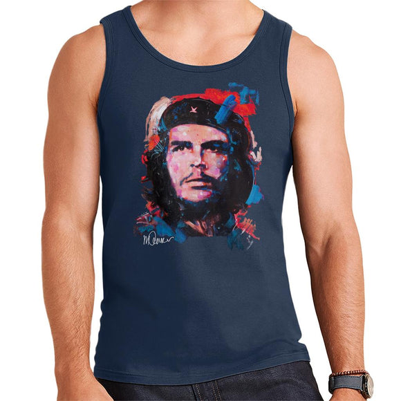 Sidney Maurer Original Portrait Of Che Guevara Men's Vest