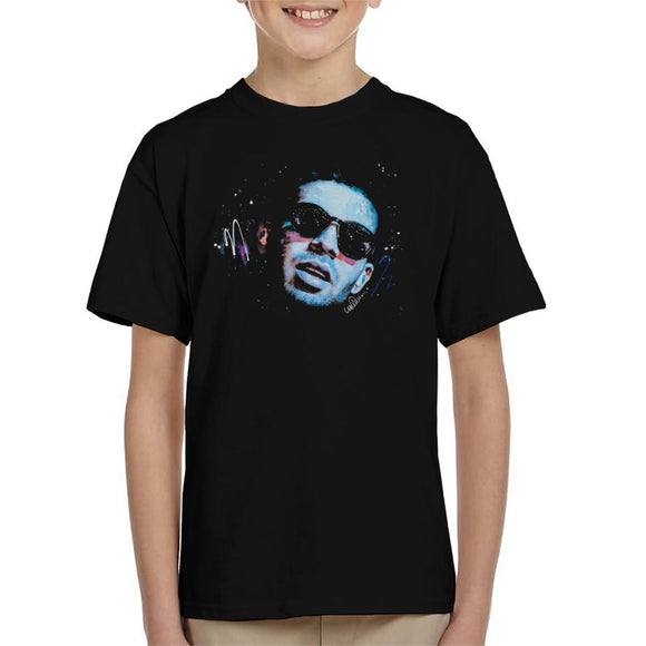 Sidney Maurer Original Portrait Of Drake Sunglasses Kid's T-Shirt